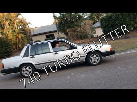 Volvo 740 Turbo flutter