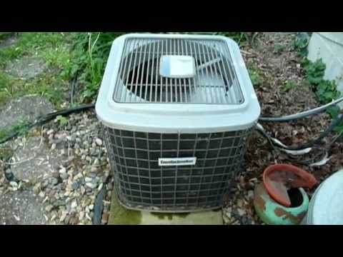 Frozen Furnace and Air Conditioner