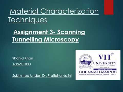 Scanning Tunneling Microscopy (STM) explained