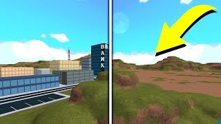 WHAT ROBLOX JAILBREAK USED TO LOOK LIKE!