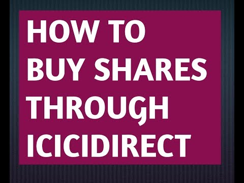How To Buy Shares Through Icicidirect (Hindi)