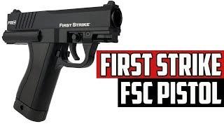 First Strike Fsc Paintball Pistol - 4k