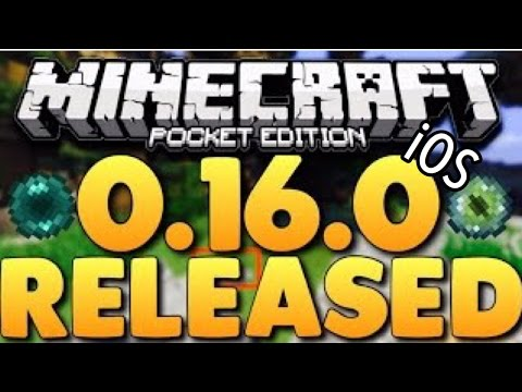 Minecraft PE 0.16.0 iOS Update Review
