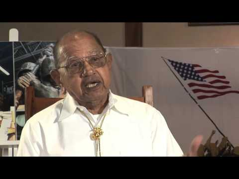 Damaso Sutis, 3rd Division Marine  - Iwo Jima Monument West