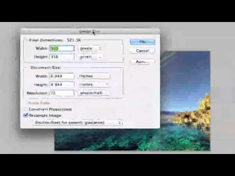 Photoshop Tutorial - How To Change The DPI Of An Image