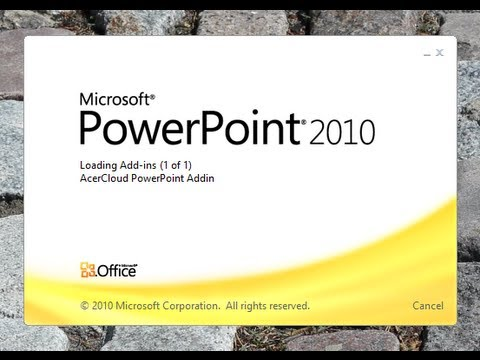 Power Point 2010 | Change slide size From 4:3 to 16:9 | Microsoft office 2010