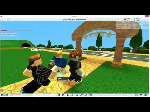 Roblox - Hướng dẫn chơi game Theme Park Tycoon 2 - Công viên tàu lượn siêu tốc | TNT