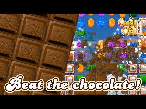 Candy Crush Saga – How To Overcome Chocolate!