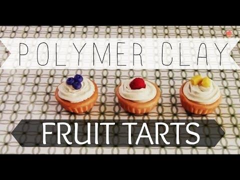 POLYMERCLAY: Fruit Tarts