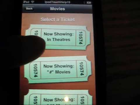How To Get Free Movies For Ipod Touch/Iphone