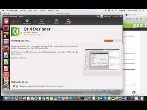 How to install Qt Designer on Ubuntu Linux for Python