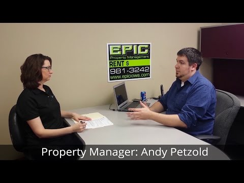 Property Manager Interview: Andy Petzold - EPIC Property Management