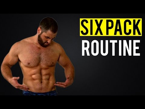 Top 5 NO-EQUIPMENT Six-Pack Exercises (Home Workout Routine!!)