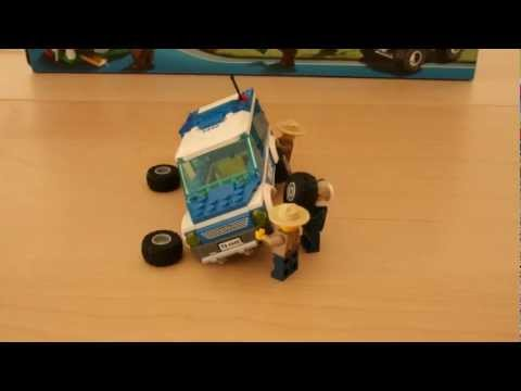 Lego 4440 - Stop Motion assembly [HD] - Forest Police Station