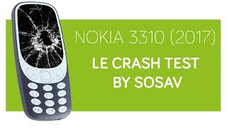 Crash test NOKIA 3310 (2017) by SOSav