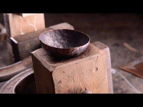 Copper Vessel - Raising a dish