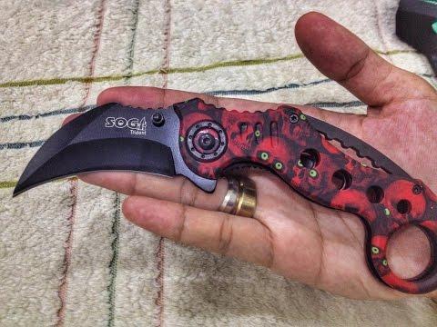 Zombie Apocalypse Weapon (Folding Karambit)