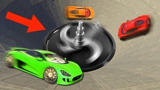 EXTREME BLENDER DERBY CHALLENGE! (GTA 5 Funny Moments)