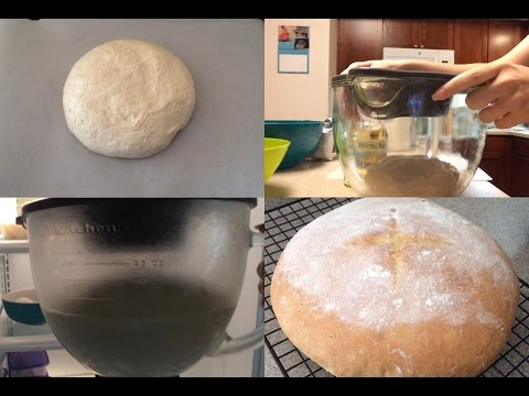 Simple Round Loaf Bread