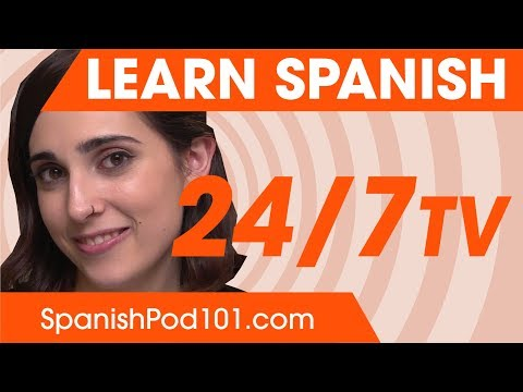 Learn Spanish in 24 Hours with SpanishPod101 TV