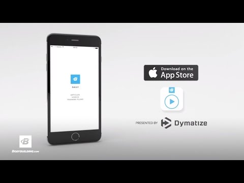 B-Daily Fitness App Presented By Dymatize | iOS