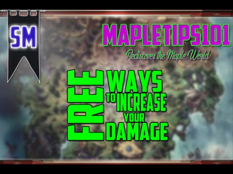 MapleStory: Best FREE Ways to Increase Your Damage!