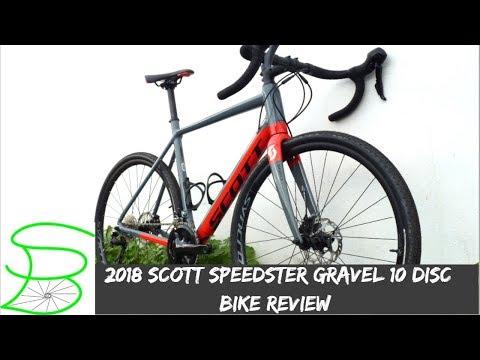 2018 Scott Speedster Gravel 10 Disc Bike Review || SPARK BIKE