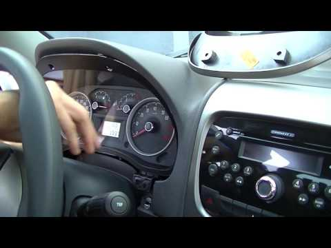 How to remove 2015 Fiat Adventure instrument cluster
