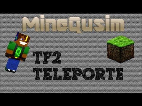 Minecraft Mody  TF2 Teleporter