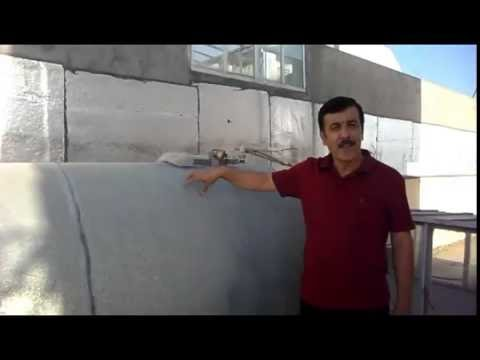 Domestic water storage tank cleaning