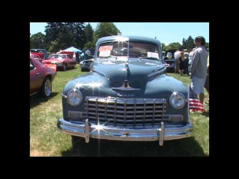 Classic and Antique Car show in Eugene, Oregon 2013