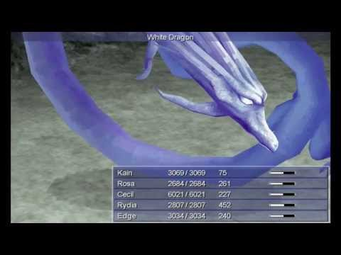 Final Fantasy IV (PC) - Boss: White Dragon (Active/Hard)