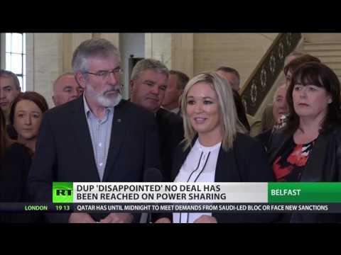 Sinn Fein blames May's