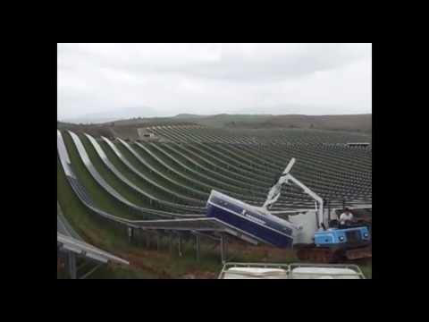Solar Clean, Solar PV Wash Machine. Fastest Way To Wash Large Solar Panel Arrays