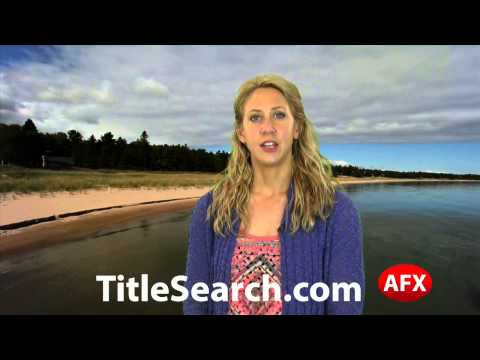 Property title records in Delta County Michigan   AFX