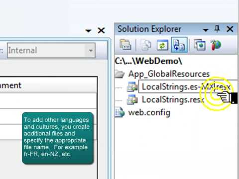 ASP.NET 3.5 Globalization and Localization Tutorial