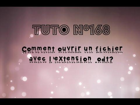 [Tuto n°168] - Comment ouvrir un fichier avec l'extension .odt? | Les Conseils d'Isa