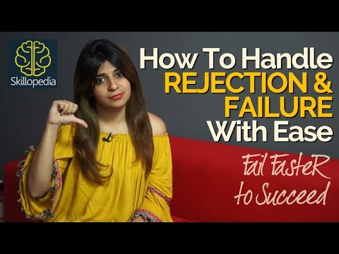 How to deal with Rejection & Failure successfully?  Increase confidence | Personality Development