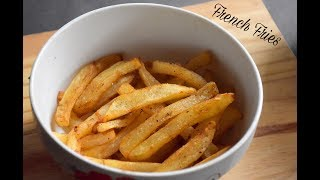 Crispy French Fries Recipe | Homemade Perfect French Fries Recipe - English Subtitles  #411