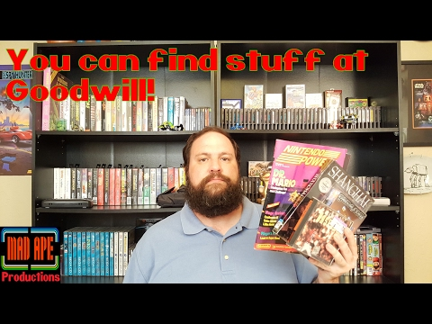 You Can Find Retro Video Games At Goodwill! - Pickups Video