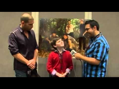 The Walking Dead Interviews with Jon Bernthal and Chandler Riggs   New York Comic Con 2011
