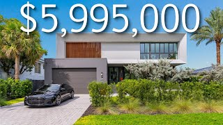 INSIDE A $5,995,000 LUXURY MODERN MIAMI WATERFRONT HOME!! SOUTH FLORIDA LUXURY HOME TOUR