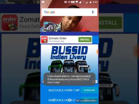 How to insert bus skin and horn in bus simulator Indonesia, - The