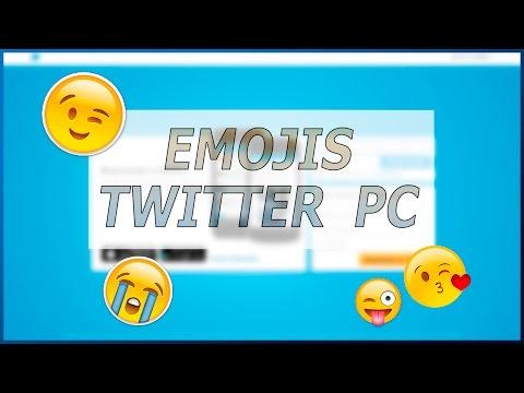 CÓMO PONER EMOJIS EN TWITTER DESDE PC