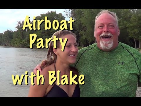 Airboat Party on the Platte