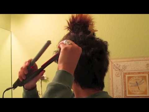 HAIR  How to Straighten a Pixie Cut + Hair Styles Using Heat