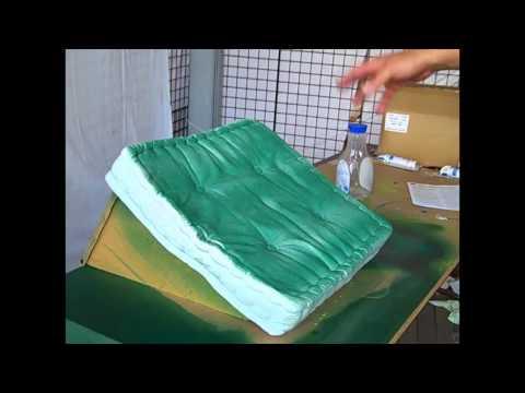 How to Use Simply Spray Fabric Spray Paint on Patio Furniture