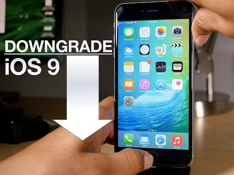 How to DOWNGRADE iOS 9 beta 1 to iOS 8.3