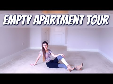 GOODBYE CRAFT ROOM : Empty Apartment Tour | SoCraftastic