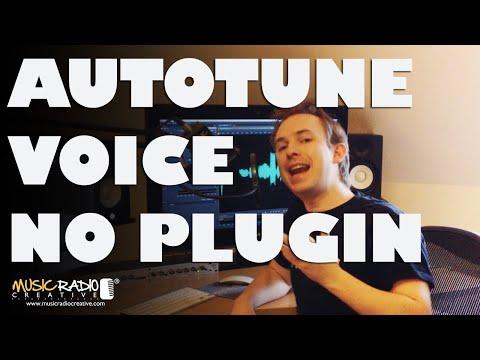 Adobe Audition's Native Autotune Effect